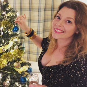 Lisa's Festive Dress by Collectif