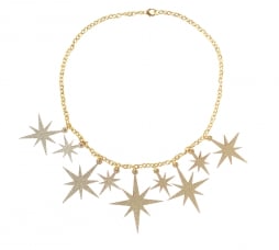 Collectif Atomic Star Necklace