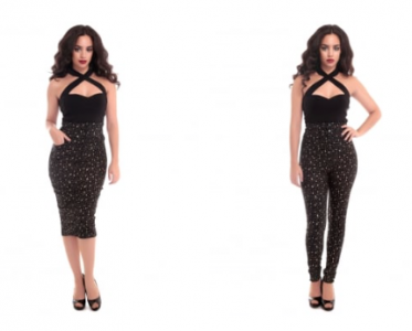 Collectif Atomic Star Pencil Skirt & Trousers