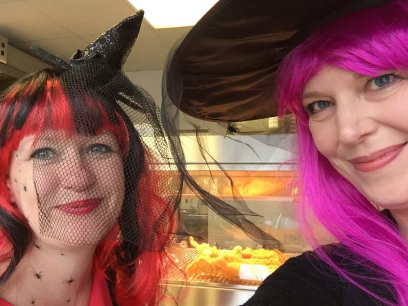 Witches at the Chip Shop!