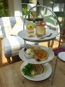 Afternoon Tea at Barnsdale Lodge