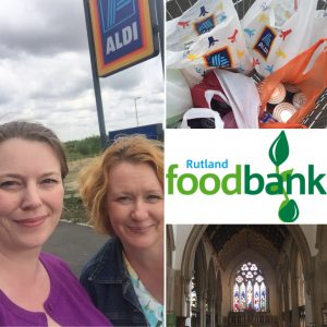 Shopping for Rutland Foodbank