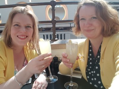 French 75s at the V&A