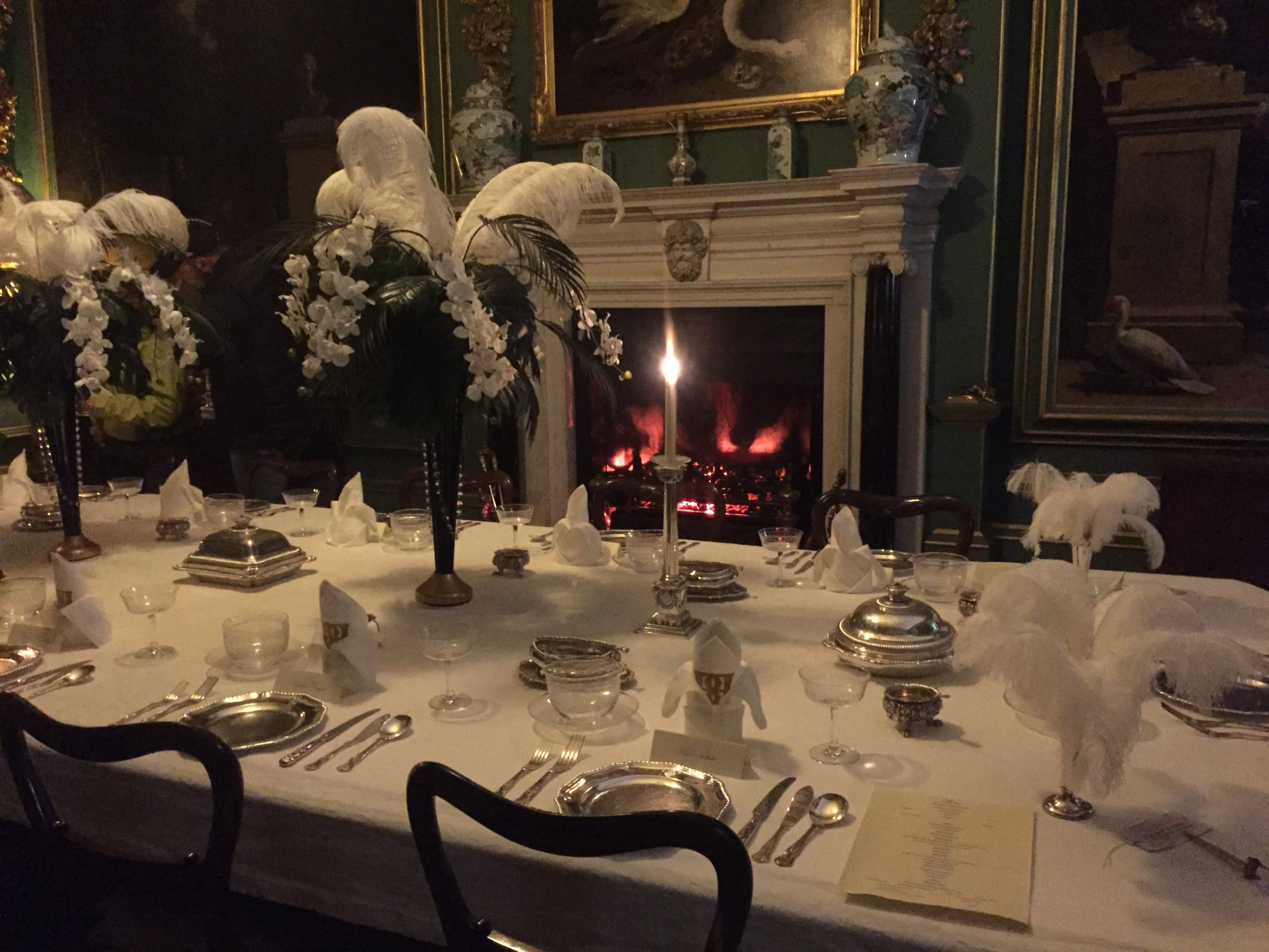 Belton House at Christmas